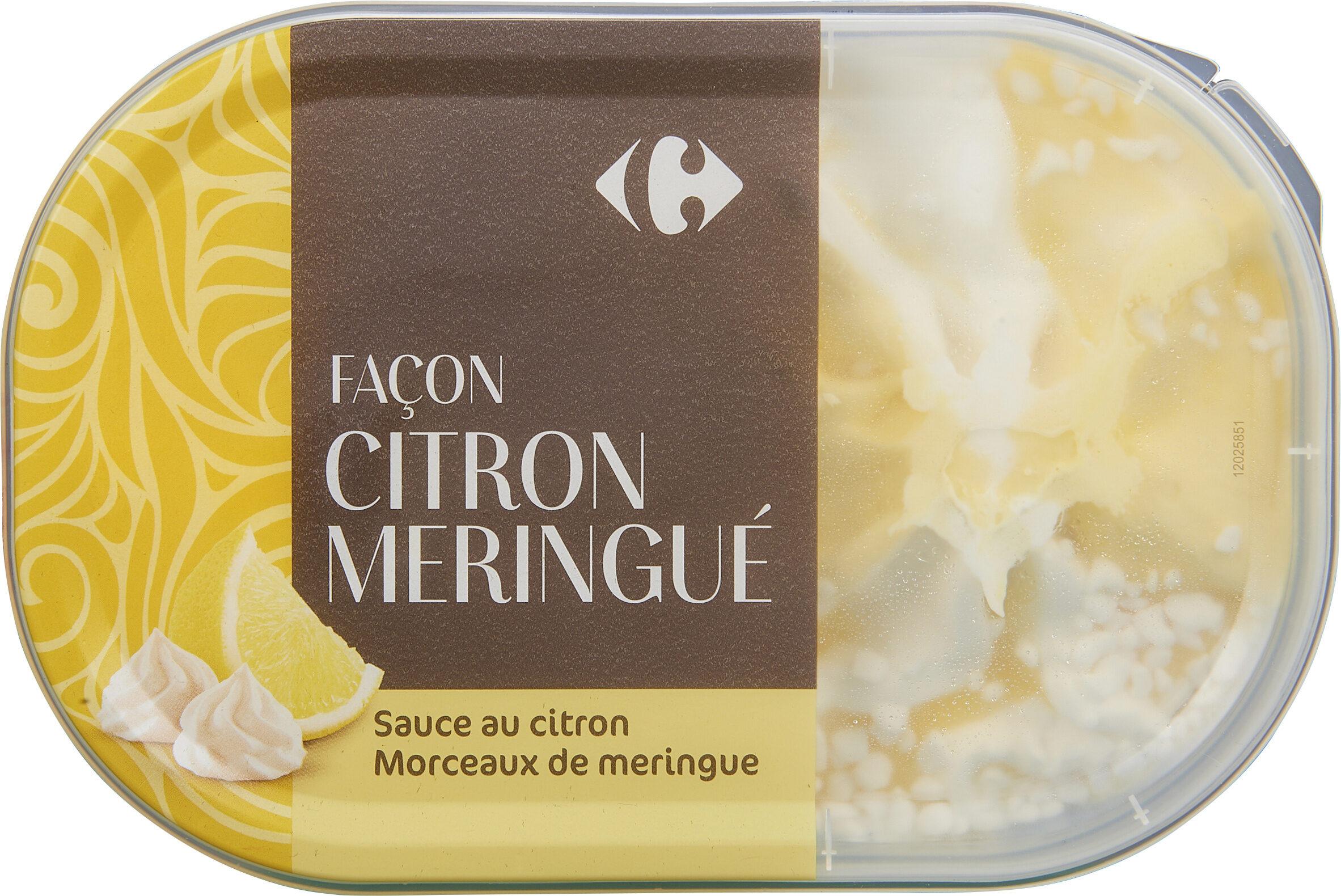 Citron meringue - Produit - fr