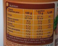 Sauce Bourguignonne - Informations nutritionnelles - fr
