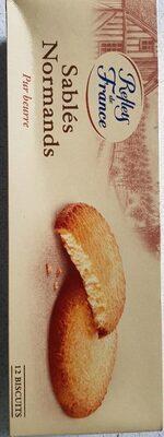Biscuits sablés de Normandie - Product - fr