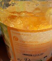 Compote d'abricot - Ingrédients