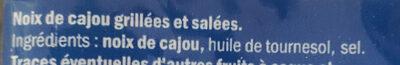 Noix de cajou - Ingredienti - fr