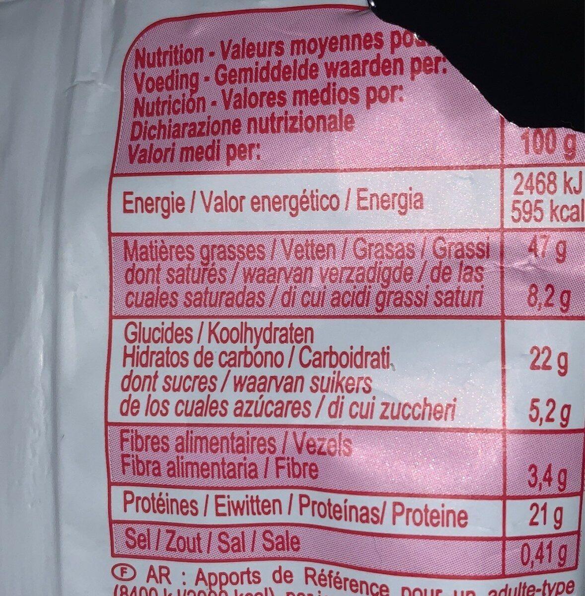 Noix de cajou - Valori nutrizionali - fr