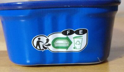 Foie de morue fumé au bois de hêtre - Instruction de recyclage et/ou informations d'emballage - fr