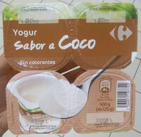 Yogur sabor a  coco - Producte - es