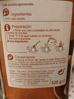 Café soluble classic - Voedingswaarden - es