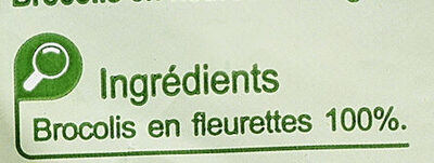 Brocolis en Fleurettes - Ingrédients - fr