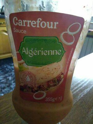 Sauce Algérienne - Producte - es