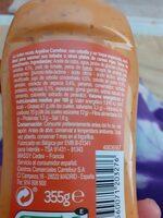 Sauce Algérienne - Ingredients - es