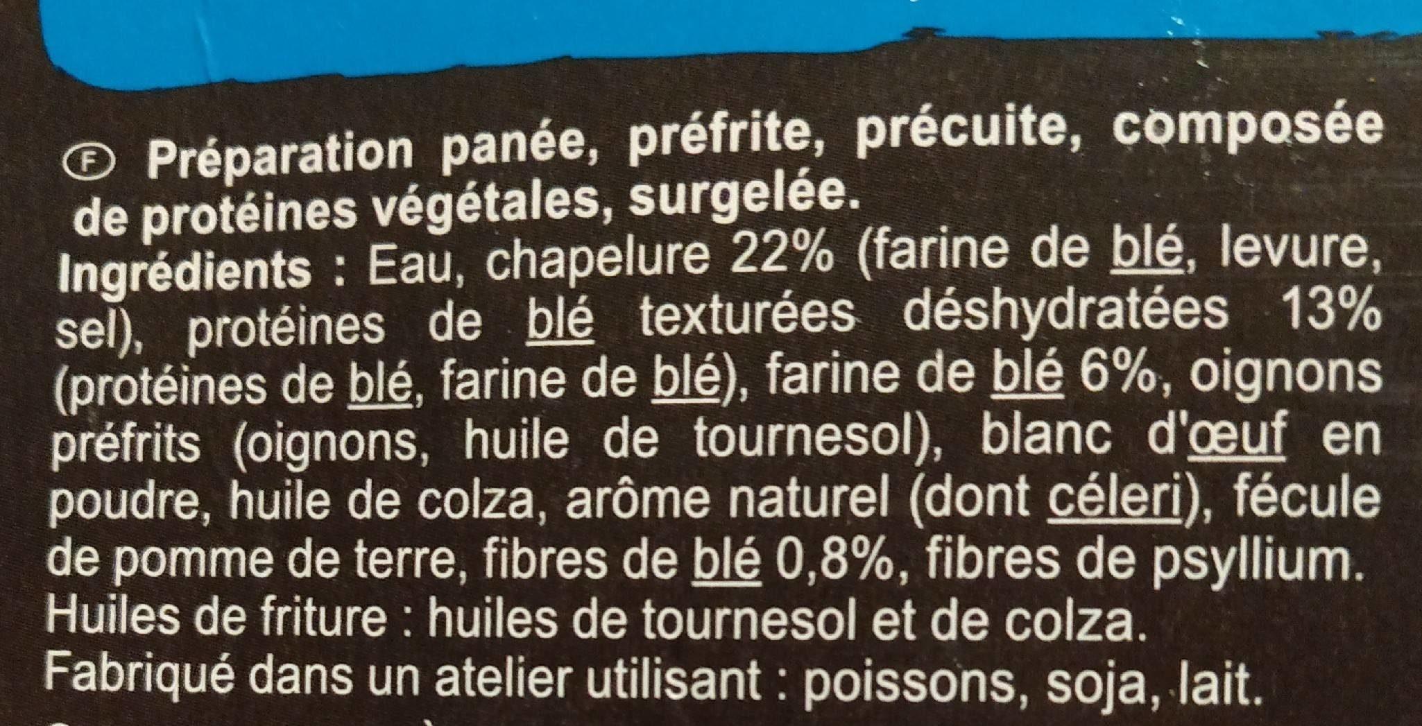 Nuggets de blé - Ingrédients - fr