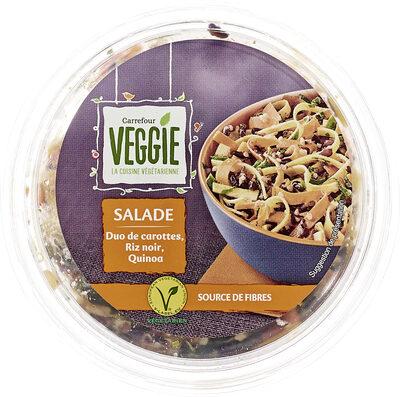 Veggie salade duo de carottes, riz noir, quinoa - Product - fr