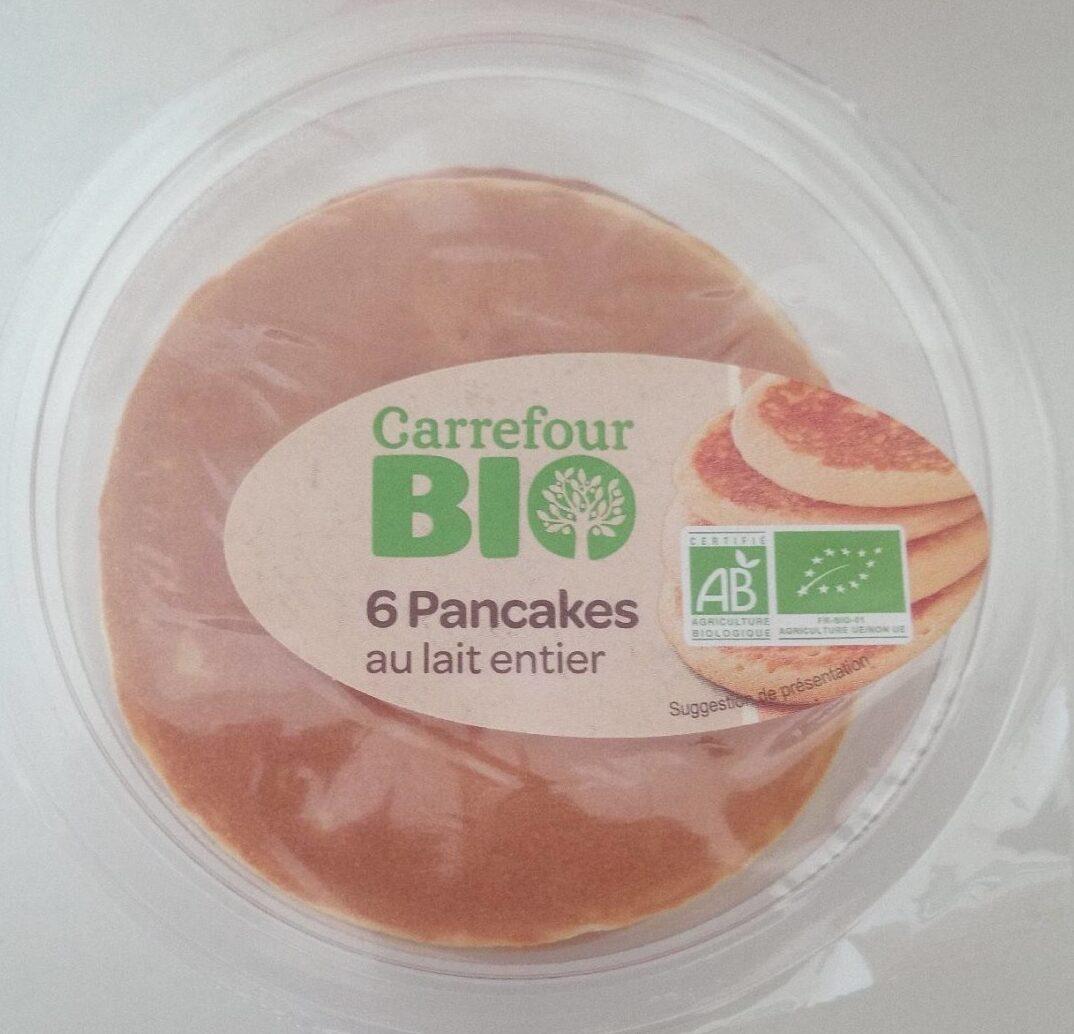 6 Pancakes au lait entier - Product - fr