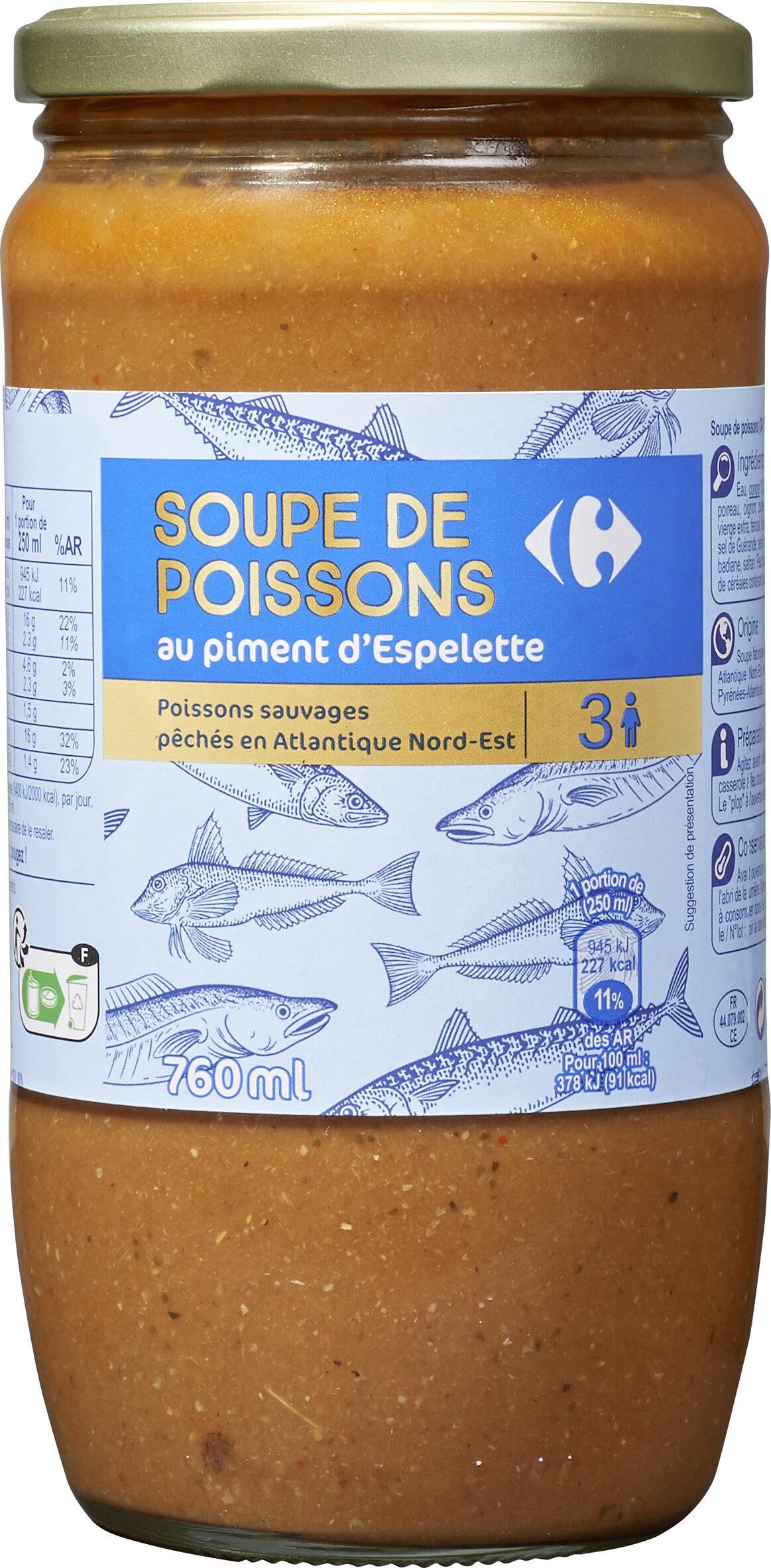 Soupe de poissons au piment d'Espelette - Producto - fr