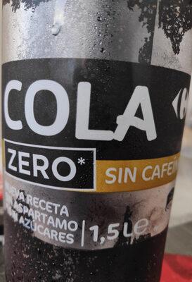 Cola zero sin cafeína - Producto - es