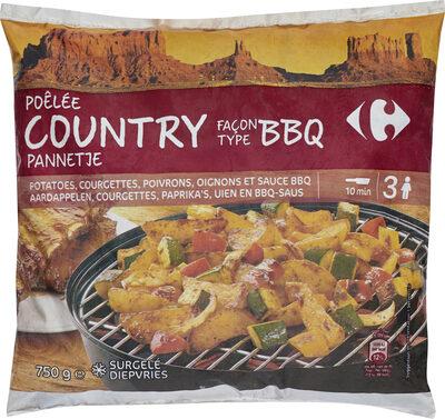 Poêlé country façon type BBQ - Prodotto - fr