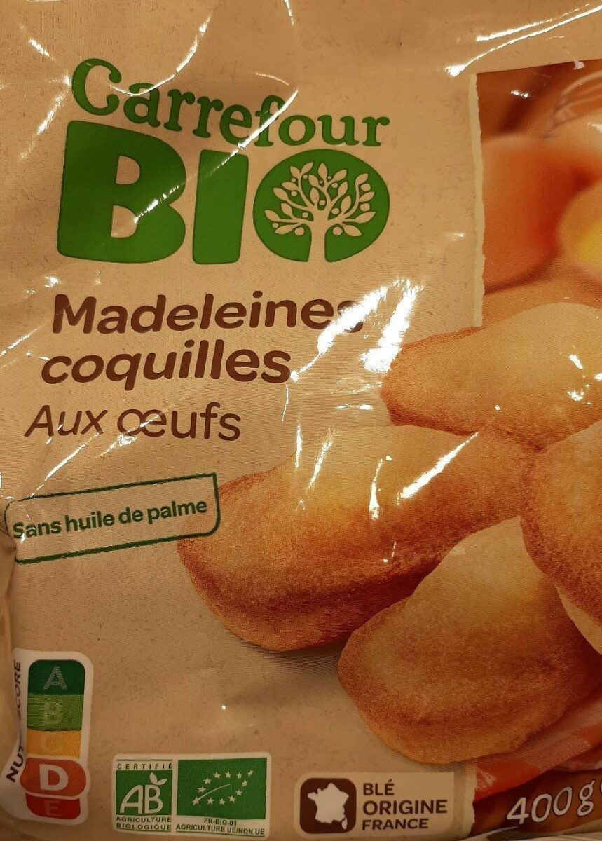 Madeleine coquilles - Product - fr