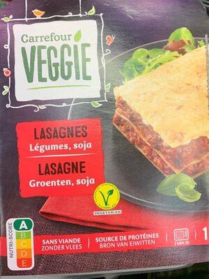 Lasagnes Légumes, soja - Product - fr