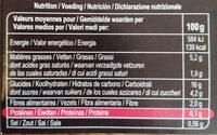 Lasagnes Légumes, soja - Voedingswaarden - fr