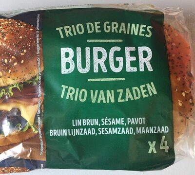 Pain à burger - Prodotto - fr
