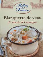 Blanquette de veau et son riz de Camargue - Produit - fr