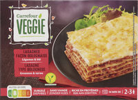 Carrefour Veggie Lasagne façon bolognaise - Produit - fr