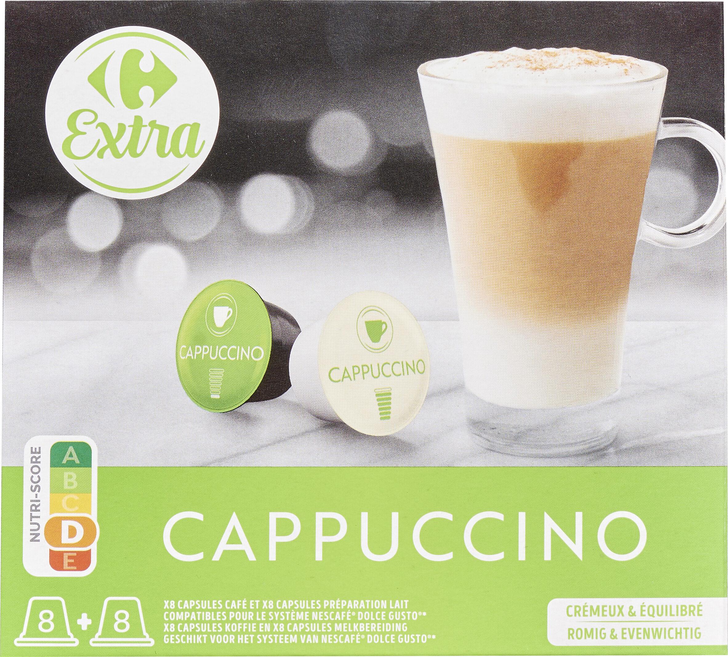 Cappucino carrefour extra compatible dolce gusto - Prodotto - fr