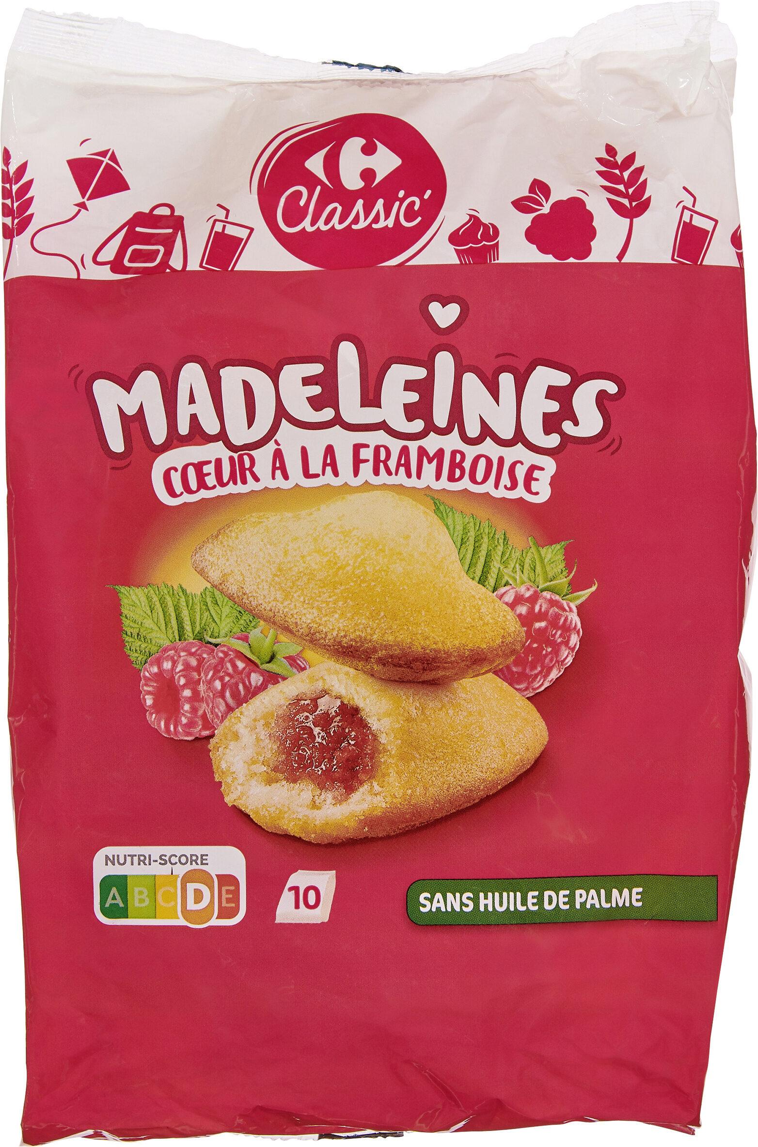 Madeleine coeur de framboise - Produit - fr