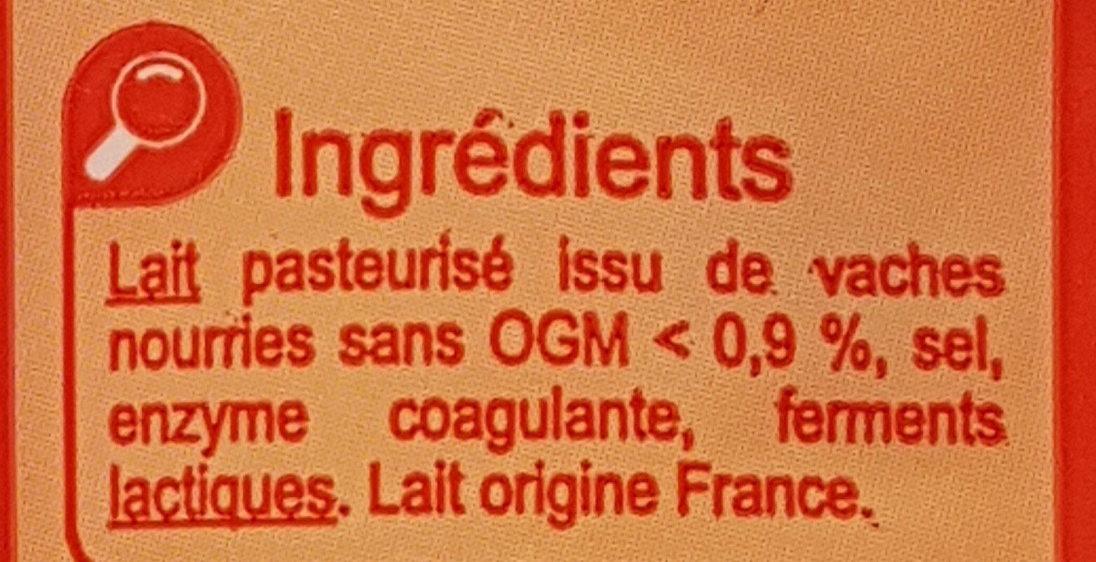 Emmental français doux et fruité - Ingredients - fr