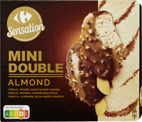 Glace vanille et amande - Produit - fr