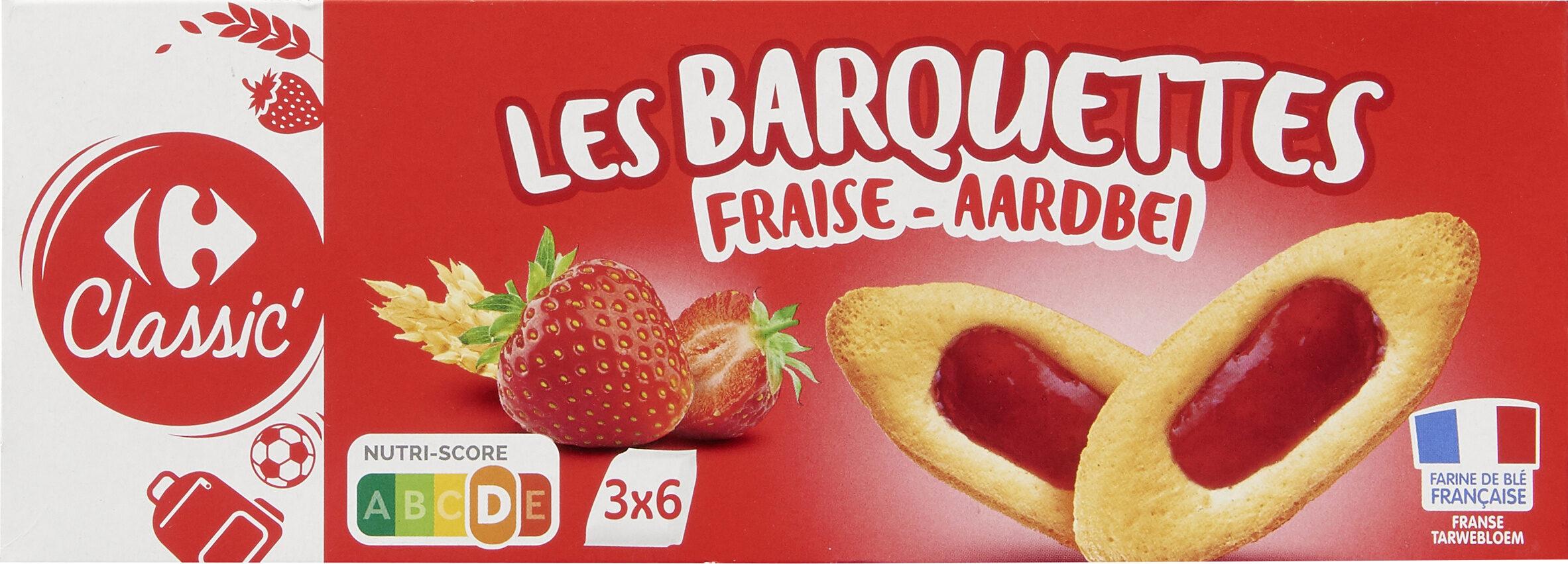 Les barquettes Fraise - Produit - fr