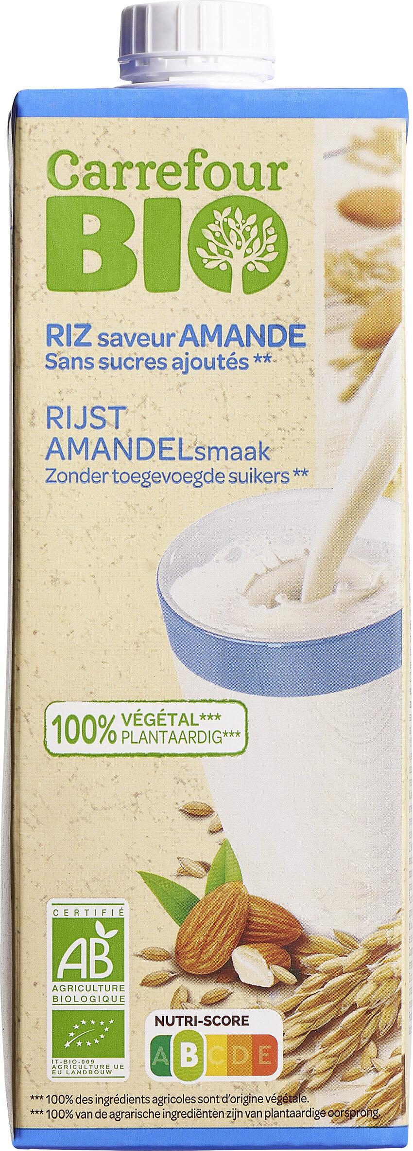 Riz saveur Amande - Produit - fr