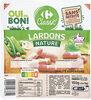 Lardons nature Carrefour Classic' - Product