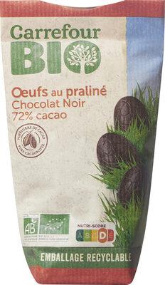Oeufs au praliné chocolat noir 72% cacao - Prodotto - fr