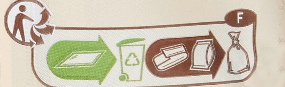 Œufs à cacher - Istruzioni per il riciclaggio e/o informazioni sull'imballaggio - fr