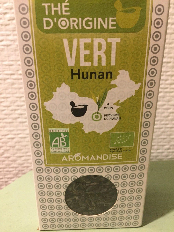 Epicerie / Thé Bio Et équitable / Thé Vert - Produit - fr
