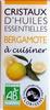 Cristaux d'huiles essentielles de bergamote - Product