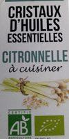 Cristaux d huiles essentielles citronelle - Voedingswaarden