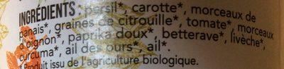 Ciao le sel - Ingrédients - fr