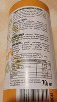 Ciao le sel - Informations nutritionnelles - fr