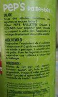 Pep's - Ingredients - fr
