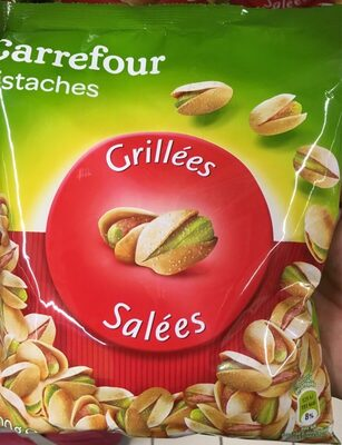 Carrefour pistaches grillees et salees - Produit - fr
