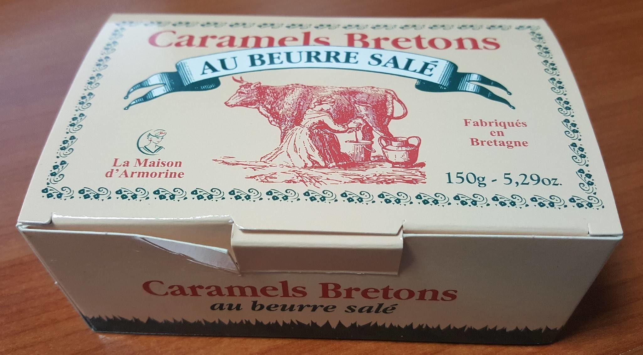 Caramels bretons au beurre salé - Produit
