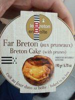 Far Breton aux Pruneaux - Produit - fr