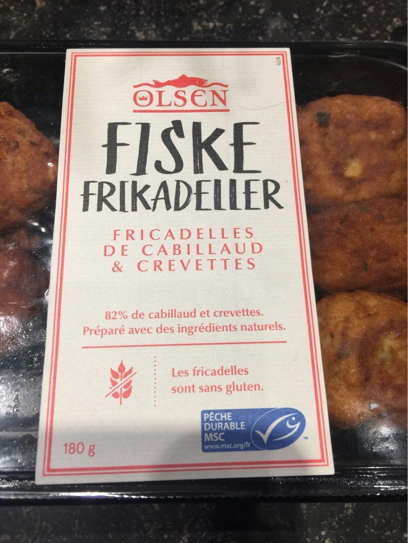 Fricadelles de Cabillaud et Crevettes - Produit - fr