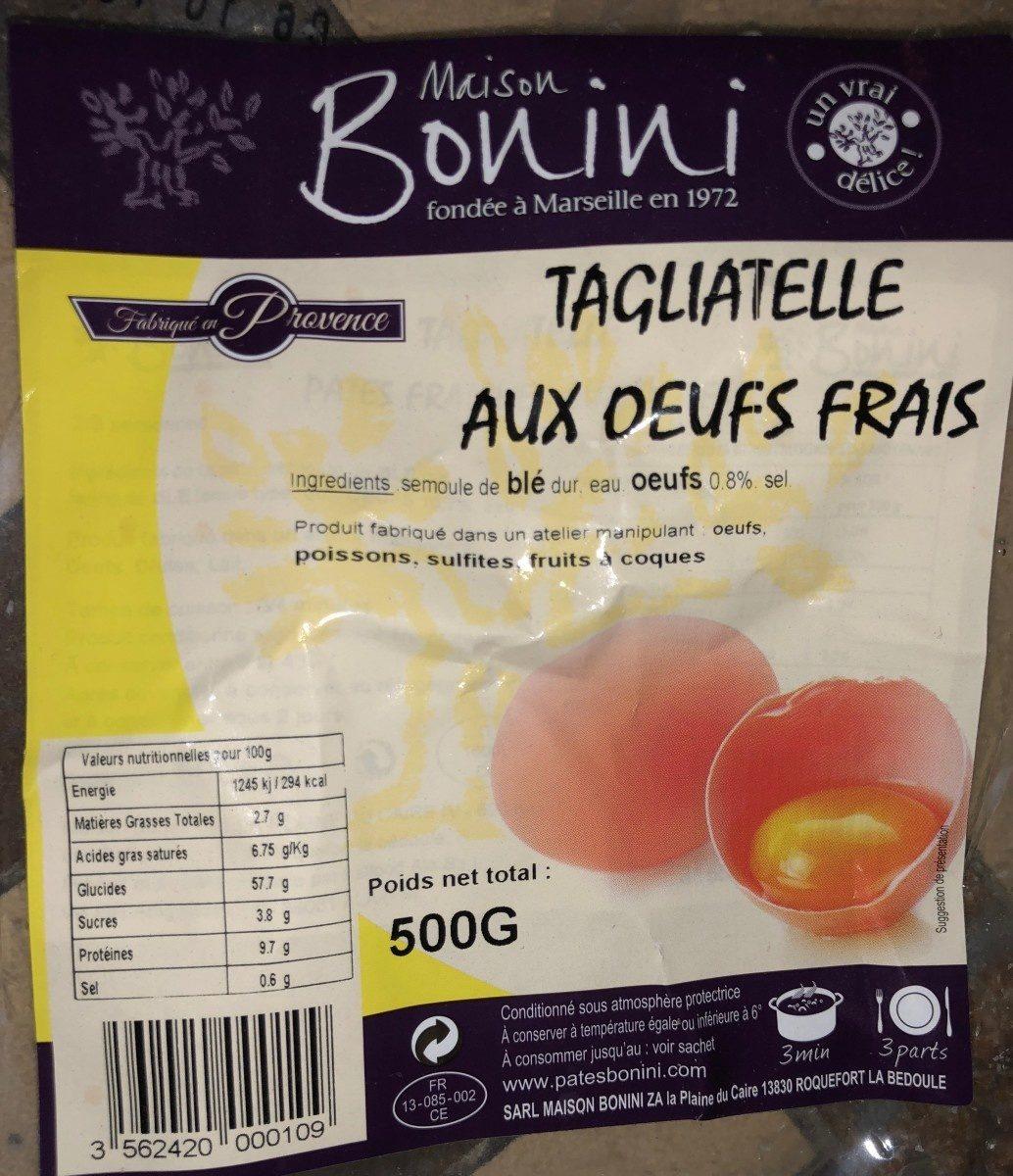 Tagliatelle aux œufs frais - Product