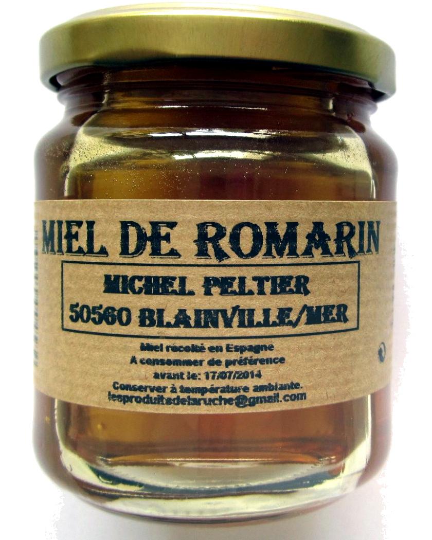Miel de romarin - Product - fr