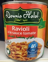 Ravioli à la sauce tomate - Halal - Produit - fr