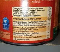 Ravioli à la sauce tomate - Halal - Informations nutritionnelles - fr