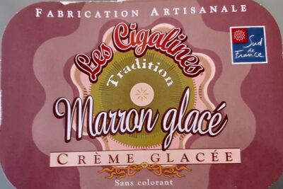 Marron glacé - Crème glacé - Product - fr