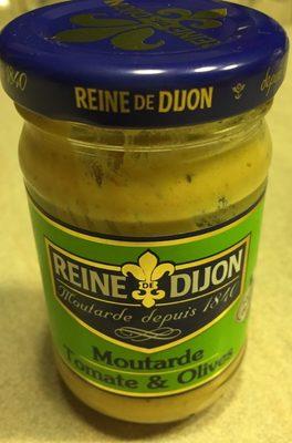 Moutarde Tomate & Olive - Produit - fr