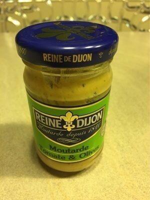 Reine De Dijon Moutarde Tomate Et Olive - Produit - fr